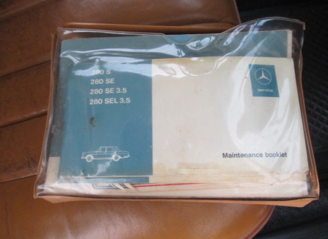1968 MERCEDES-BENZ 280S for sale in Cape Town full